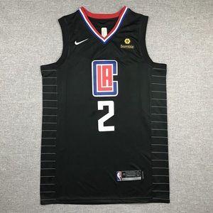 LA Clippers Leonard 2 Fully Stitched NBA Jersey